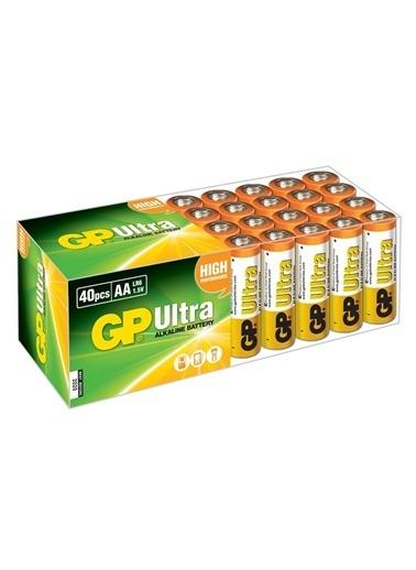 GP 40'li Paket Ultra Alkalin AA Kalem Pil Renksiz